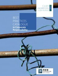 Best Practices Catalogue in Corporate Responsibility