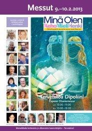 2013 Messuliite (PDF) - Minä Olen