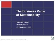 Business Value of Sustainability