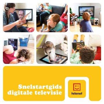Gebruikersgids digitale televisie (zwarte ... - Klantenservice