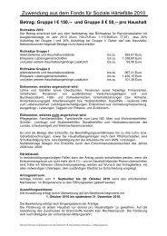 2010 GR Brennstoffaktion Richtsätze u. f. Mitteilungsblatt