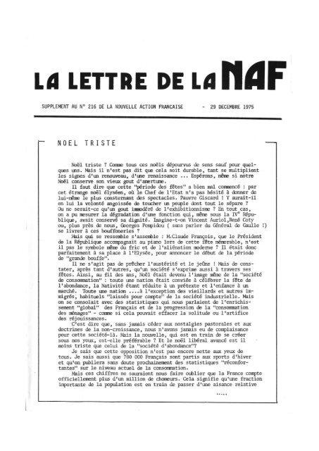 Lã Lettre De L D H D F Archives Royalistes