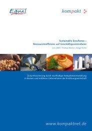kompakt-Projekt (2005): Sustainable Excellence