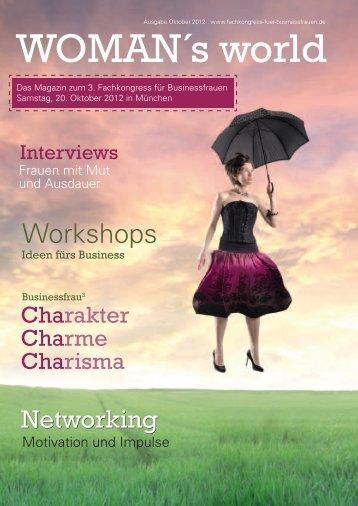 Schalten Sie jetzt nicht ab! - Fachkongress für Business Frauen