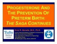 Progesterone and the Prevention of Preterm Birth - Cmebyplaza.com