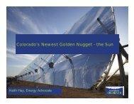 May 2008 - Environment Colorado Solar Energy