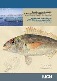 Développement durable de l'aquaculture méditerranéenne ...