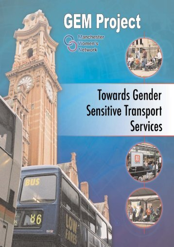Towards Gender Sensitive Transport Services Report 2006 (pdf)