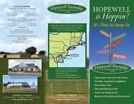 is Hoppin'! - Hopewell Township