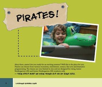 Pirates! - Lausanne Collegiate School
