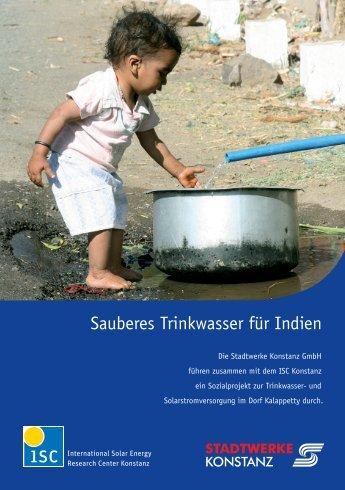 Sauberes Trinkwasser für Indien - ISC Konstanz