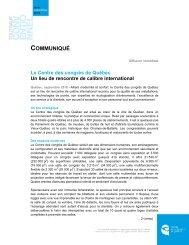 Télécharger en version PDF - Centre des congrès de Québec