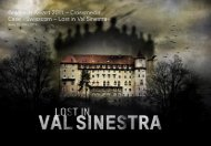 Lost in Val Sinestra - Goldbach Group
