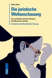 Die juristische Weltanschauung - VSA Verlag