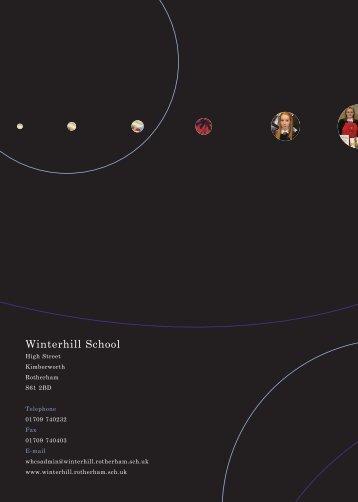 Prospectus Artwork A4 12up - Winterhill School
