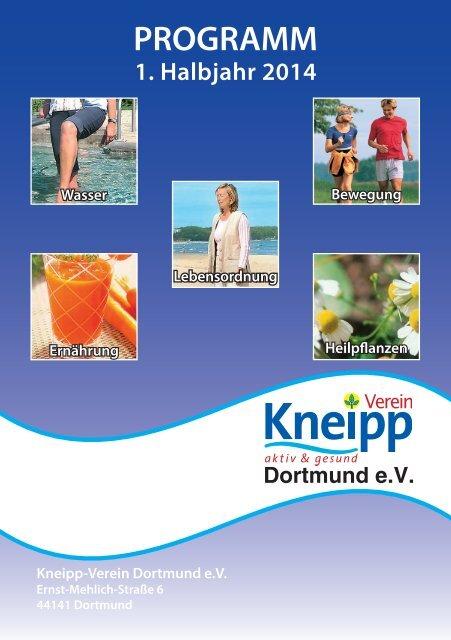 aktuelle Programm - Kneipp Verein Dortmund e.V