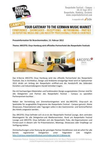 Reeperbahn Campus_Presseinformation_13.02.12