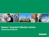 Beamex® Integrated Calibration Solution - Control System