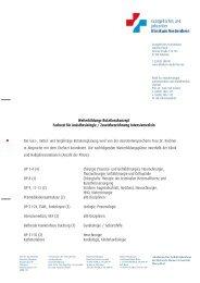 Rotationskonzept - Klinikfinder.de