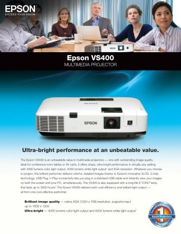 Epson VS400 - AVI-SPL