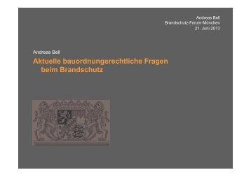 Art. 2 Abs. 4 Nr. 9 - Brandschutz-Forum