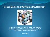 Social Media and Workforce Development - International ...