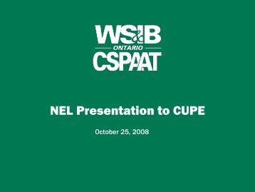 Regional Evaluation Centres - CUPE Ontario