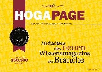 MESSEHALLE - HOGAPAGE