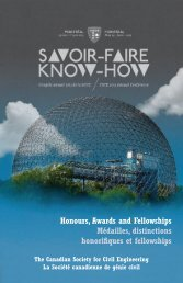 Honours and Awards Booklet 2012-2013 - CSCE • Canadian ...