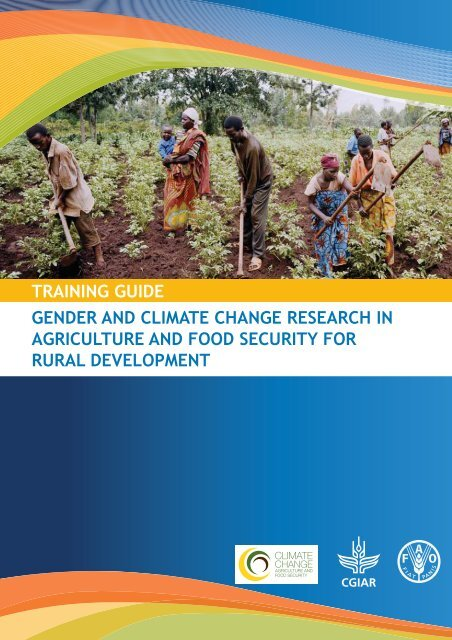Gender and climate change research in - FAO