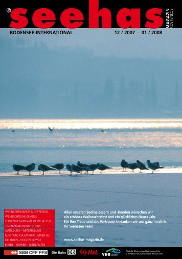 BODENSEE-INTERNATIONAL 12 / 2007 – 01 ... - Seehas Magazin