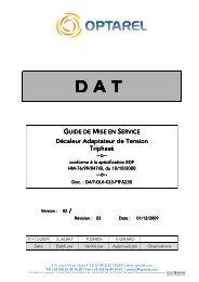 Guide de mise en service DAT tri - OVH.net