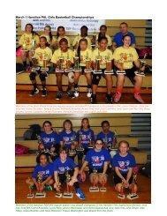 2014 March 1 Hamilton PAL Girls Basketball Championship Games