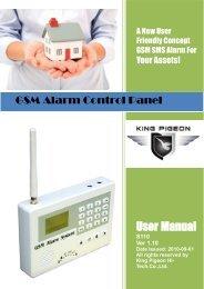 GSM Alarm Control Panel - Microdata Finland Oy