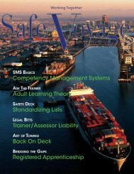 Spring 2009 edition - Towmasters: the Master of Towing Vessels ...