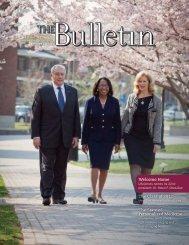 USciences Bulletin - University of the Sciences in Philadelphia