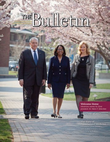 USciences Bulletin - University of the Sciences in Philadelphia