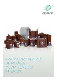 TRANSFORMADORES DE MEDIDA. MEDIA TENSIÓN INTERIOR.