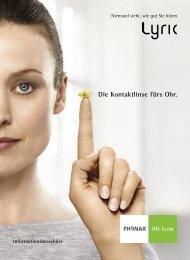 Die Kontaktlinse fürs Ohr. - Phonak