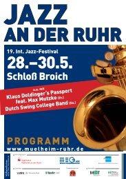 Programmübersicht Jazz an der Ruhr - phmicol.de