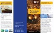 BDO Omnibus Investment