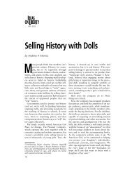 Selling History with Dolls - Foundation for Economic Education