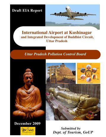 Draft EIA Report for Kushinagar Airport Project - Uttar Pradesh Tourism