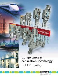Competence in connection technology - Phoenix Contact Italia