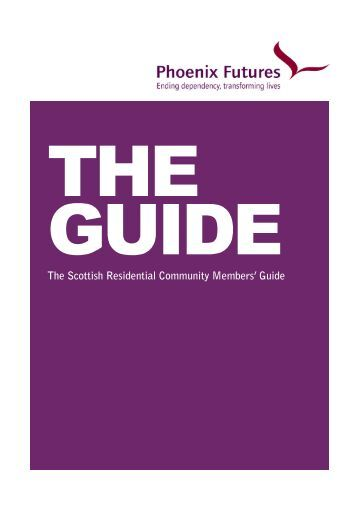 Download our Scottish Residential Client Guide - Phoenix Futures