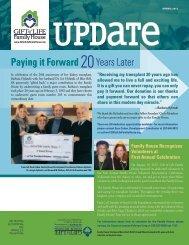 Gift of Life Family House Newsletter