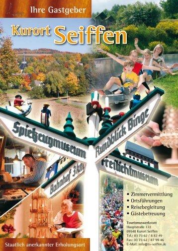 Ihre Gastgeber in Seiffen (Download im Format  PDF