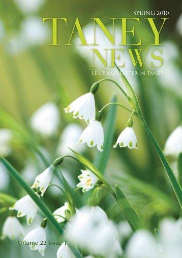 Volume 22 Issue 1 - Taney Parish website