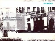 Starting from our first office in Lahore in1922 - Siemens Pakistan