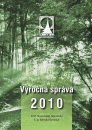 Výročná správa - Lesy SR š.p.